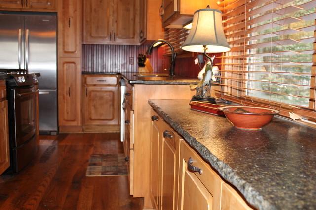 Minocqua Cabin rustic-kitchen