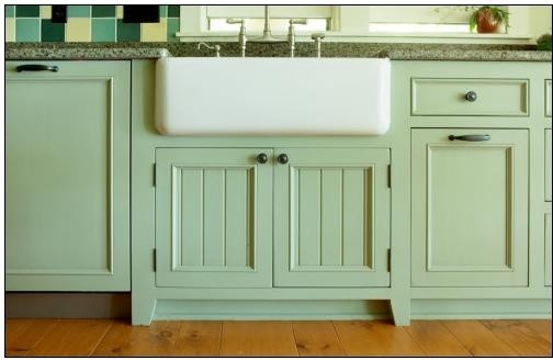 Mint Kitchen - Traditional - Kitchen - milwaukee - by A Fillinger Inc