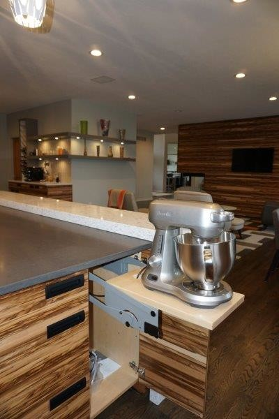 Inspiration for a craftsman kitchen remodel in Indianapolis