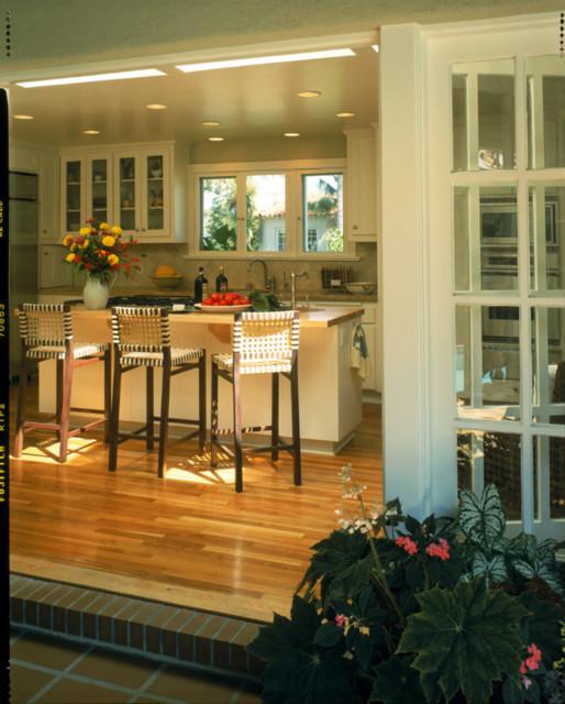 Mission Hills Courtyard Spanish contemporary-kitchen