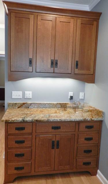 Mission Style Kitchen Craftsman Kitchen Jacksonville