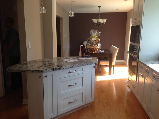 mississauga residence kitchen dining room renovation