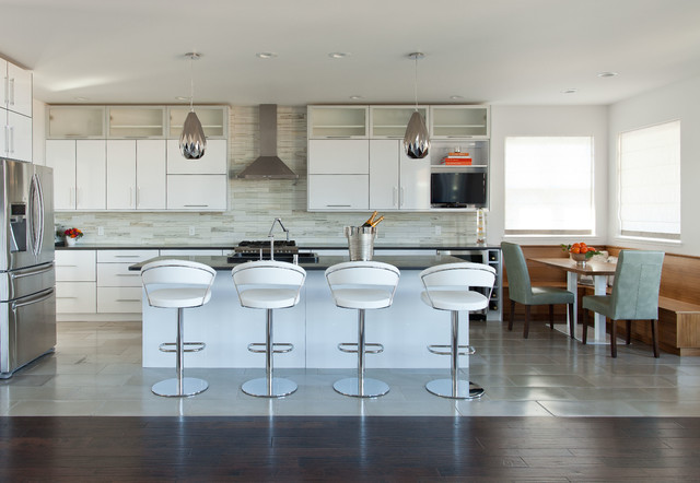Missoula UltraModern Home Contemporary Kitchen Other by
