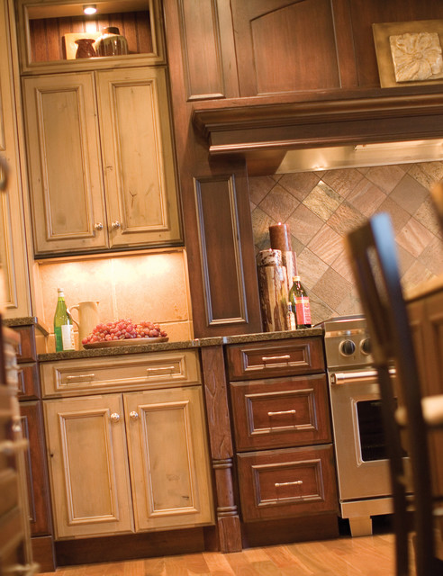 Mix it Up - Rustic Country traditional-kitchen
