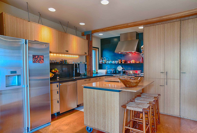 Mixed Use Elegance - Eclectic - Kitchen - Portland - by Louise Lakier
