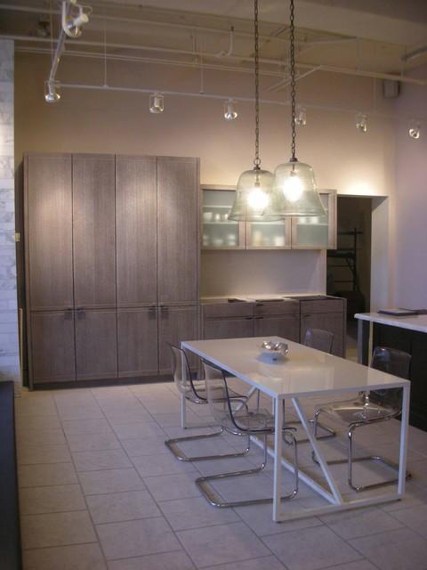 Mizuki in Cerused Grey modern-kitchen