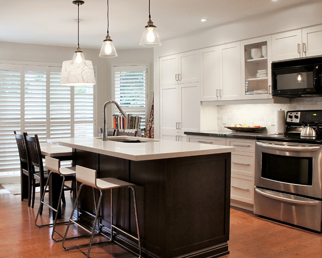 Moc Residence Oakville On Transitional Kitchen Toronto By The Kitchen Abode Ltd