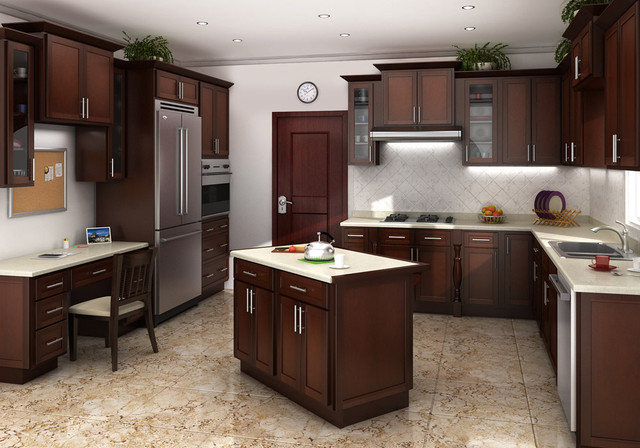 Mocha Shaker Kitchen Cabinets Kitchen Cabinet Kings Kitchen