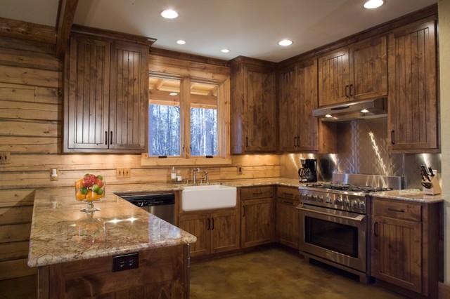 Mod Woodland Ii Opt I Marshall Tx Rustic Kitchen