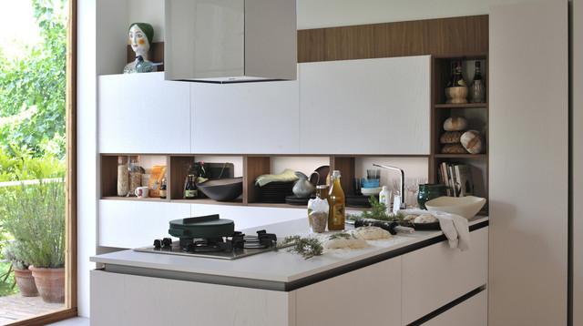 Model Oyster Pro - Contemporaneo - Cucina - Miami - di Veneta Cucine US