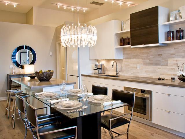 Modena Classic White High Gloss modern-kitchen-cabinetry