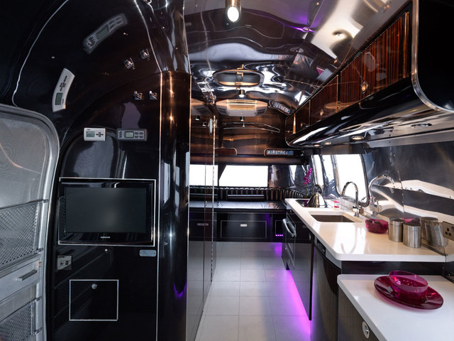 Modern Airstream Restoration Modern Kitchen Other Metro