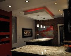 Modern and Colour make a statement! modern-kitchen