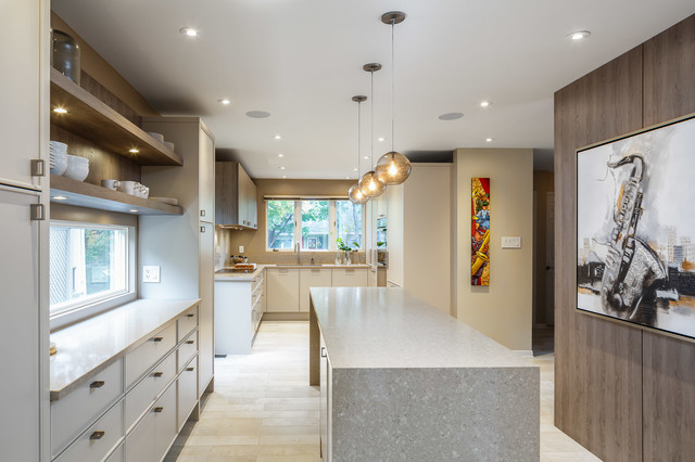 Modern Minimal Kitchen Design Astro Design Centre Ottawa Canada Contemporary Kitchen