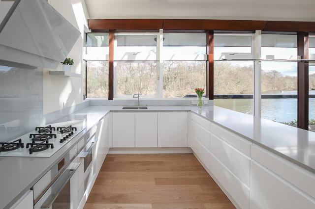 modern amp scandinavian kitchen norfolk