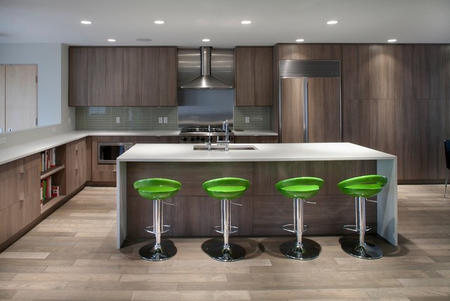 Modern Architectural Home Modern Kitchen Edmonton By Ag Woodcrafting Inc