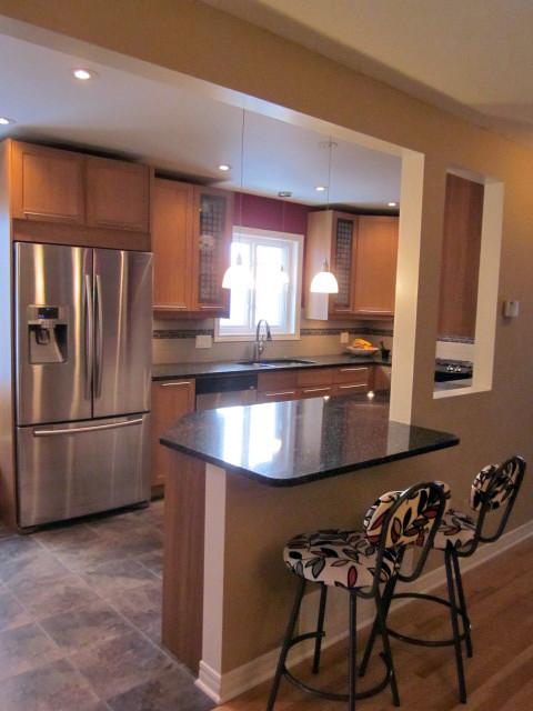 Modern arts and crafts kitchen modern kitchen ottawa for Arts and crafts kitchen designs