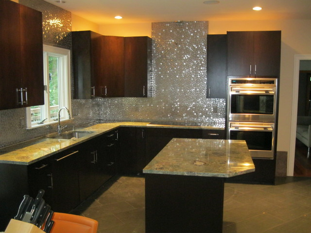 Modern Backsplash Kitchen Boston By Tile