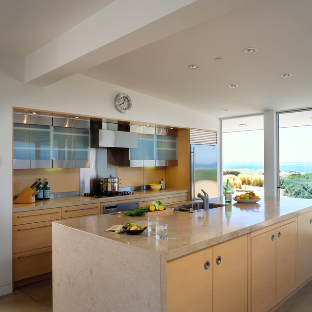 Modern Beach Style Kitchen Santa Barbara By