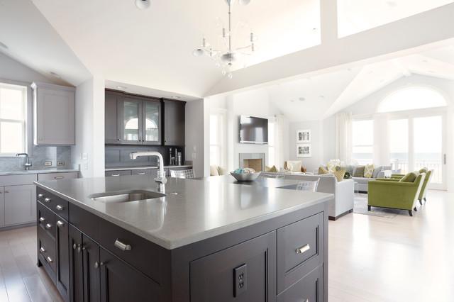 Modern Beach House Transitional Kitchen Richmond By Kdw Home Kitchen Designworks