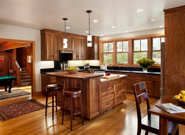 Modern berkeley cabin contemporary kitchen san for Kitchen cabinets berkeley