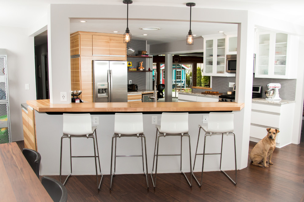 Modern Blend Kitchen Project