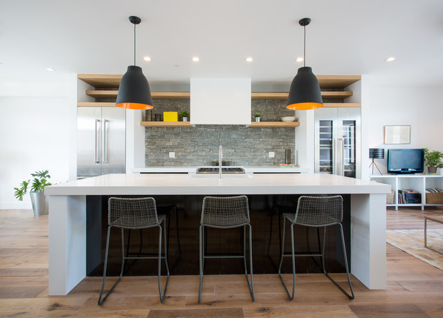 Modern Brooklyn Townhouse Contemporary Kitchen New