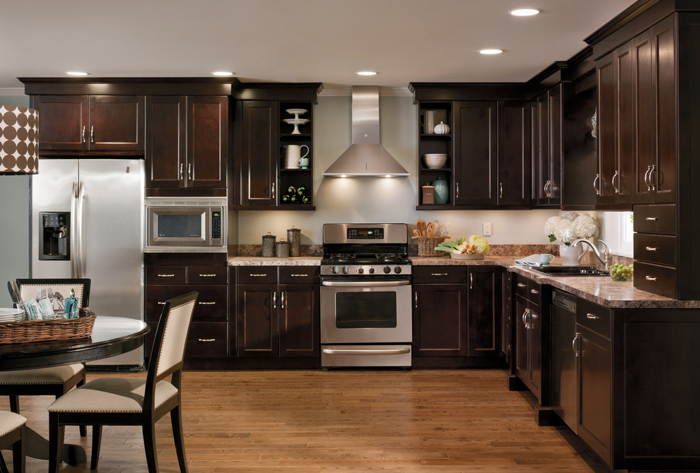 Modern Brown Kitchen Traditional Kitchen Salt Lake City By Chris And Dick S