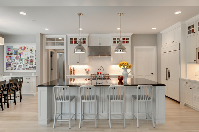 Modern bungalow traditional kitchen minneapolis by for Traditional home great kitchens