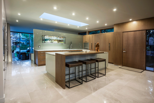 Modern Bungalow Contemporary Kitchen Calgary By Rusch Projects
