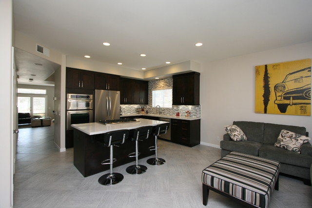Modern Contemporary Kitchen Other Metro By Cab I