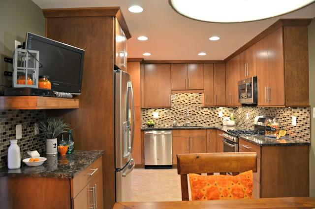 Modern Carmel Kitchen Transitional Kitchen DC Metro