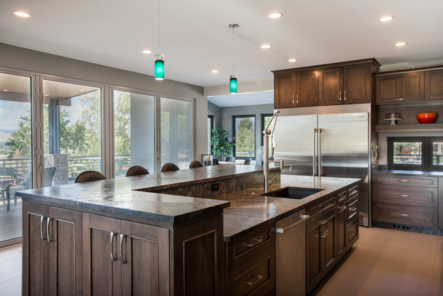 Modern Chefs Kitchen Modern Kitchen