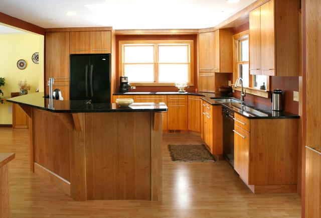 Modern Cherry Kitchen Modern Kitchen Other By Essential Home Artisans Design Center