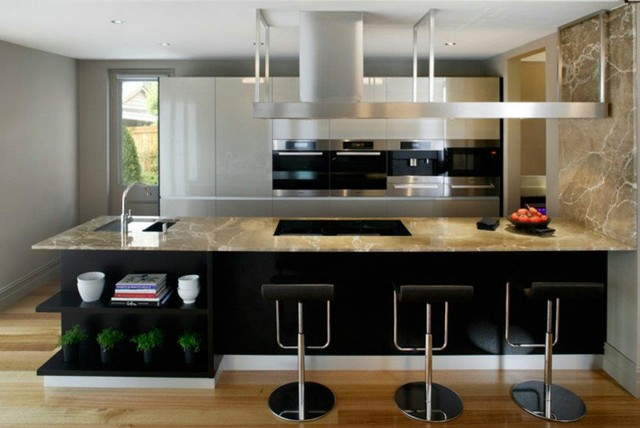 modern chic modern kitchen sydney by simon scott