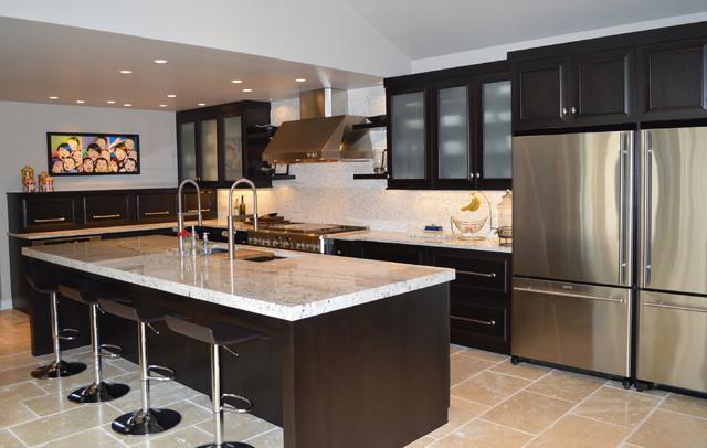 Modern City Kitchen Transitional Kitchen