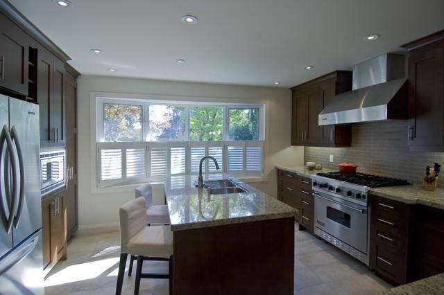 Modern classic kitchen contemporary kitchen toronto for Modern classic kitchen design