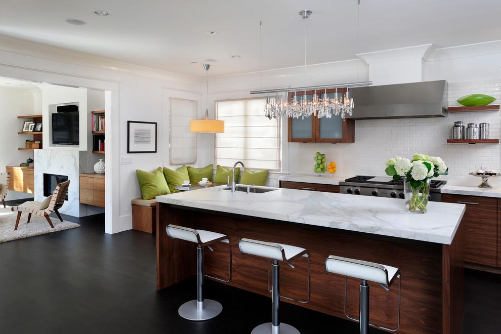 Modern Classic Contemporary Kitchen San Francisco By Sullivan Design Studio