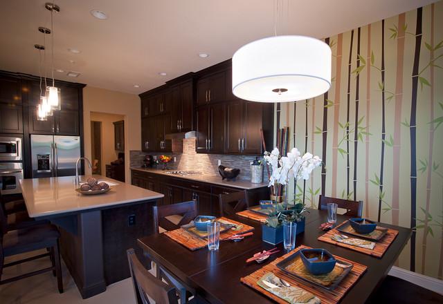 Modern, Clean, Asian, Chic, Unique contemporary-kitchen