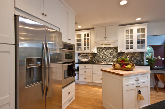 Modern Colonial Kitchen Remodel  Traditional  Kitchen  other metro