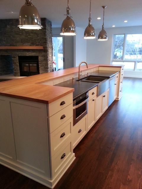 Modern/Contemporary Home contemporary-kitchen