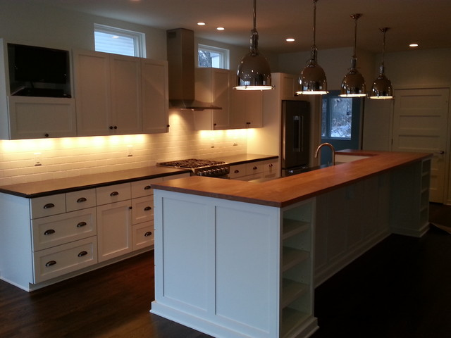 Modern/Contemporary Home traditional-kitchen