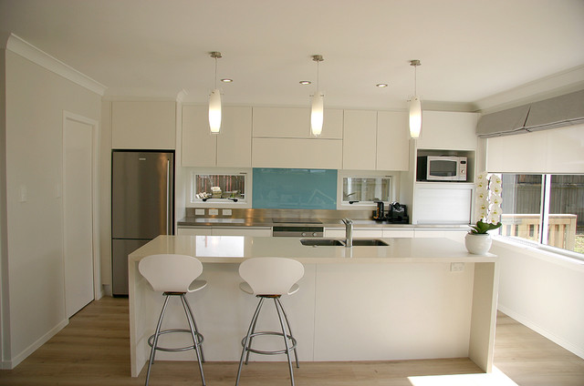 Modern contemporary minimalist kitchen design for Minimalist kitchen design