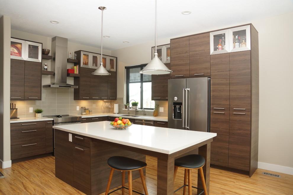 Modern Contemporary Soho Style Kitchen Contemporary Kitchen Salt Lake City By Renovation Brothers Houzz