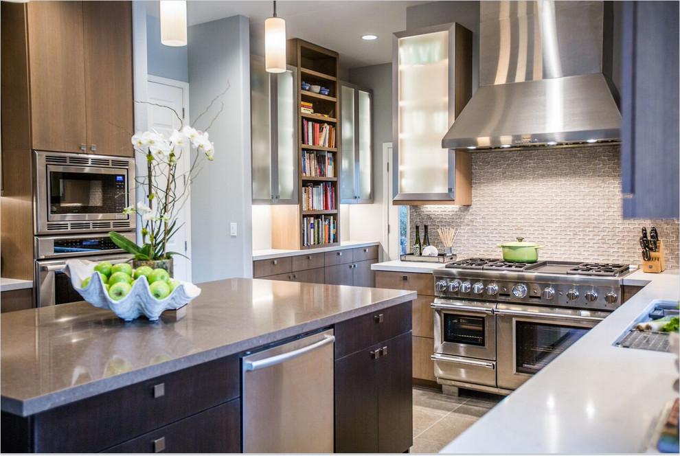 Modern Cook S Kitchen Contemporary Kitchen Sacramento By Livwel Aimee Griffin Houzz