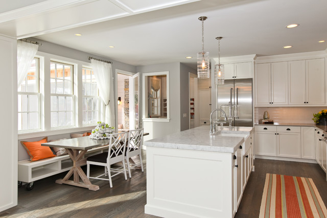 Modern Cottage Dream Home in Edina traditional-kitchen