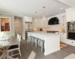 Modern Cottage Dream Home in Edina contemporary-kitchen