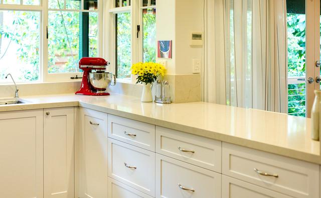 modern cottage kitchen traditional-kitchen