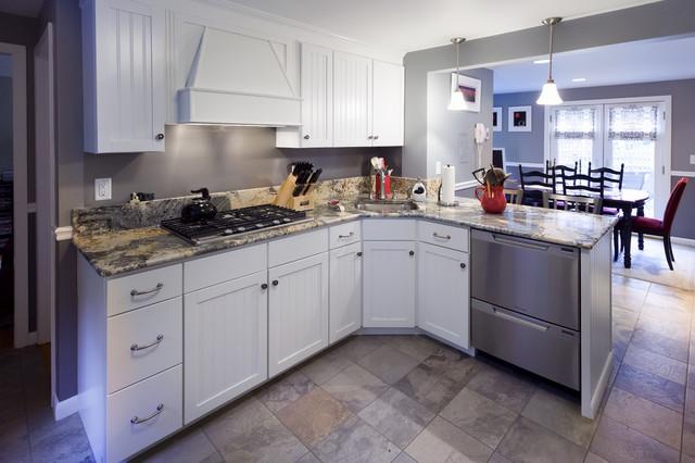 Modern Cottage Kitchen contemporary-kitchen