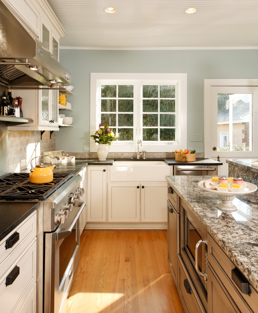 Modern country kitchen traditional kitchen dc for Country kitchen paint colors